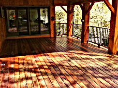 Deck Repair and Staining