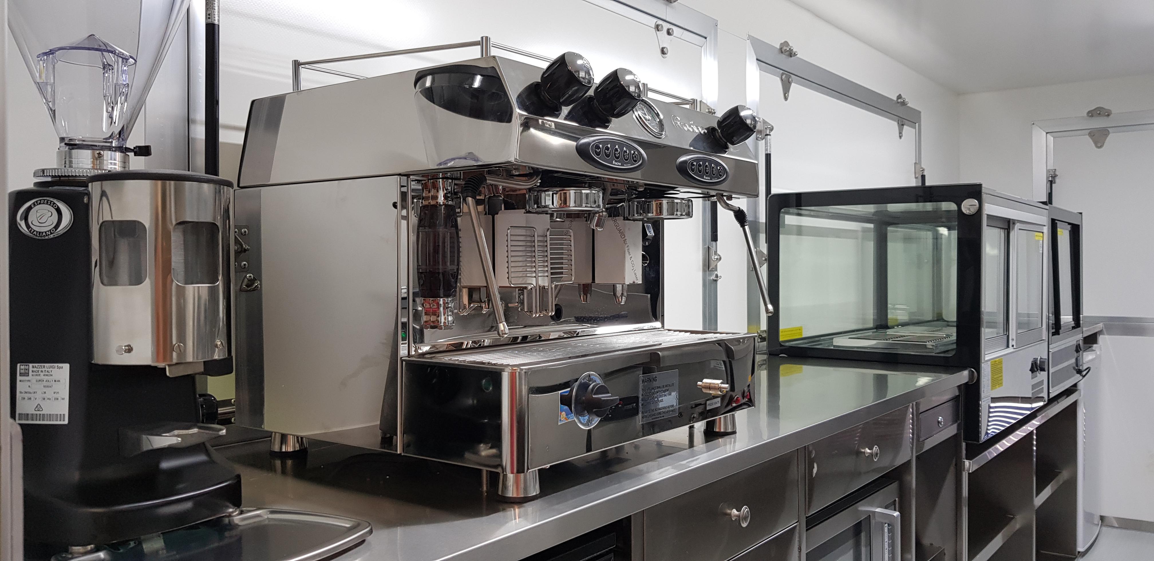 gas coffee machine