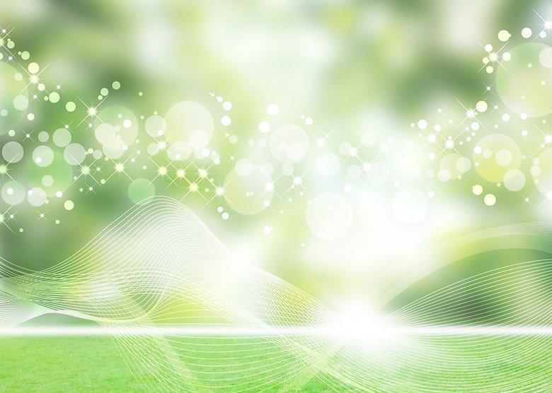 キラキラ緑