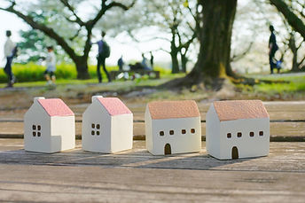公園の小さな家