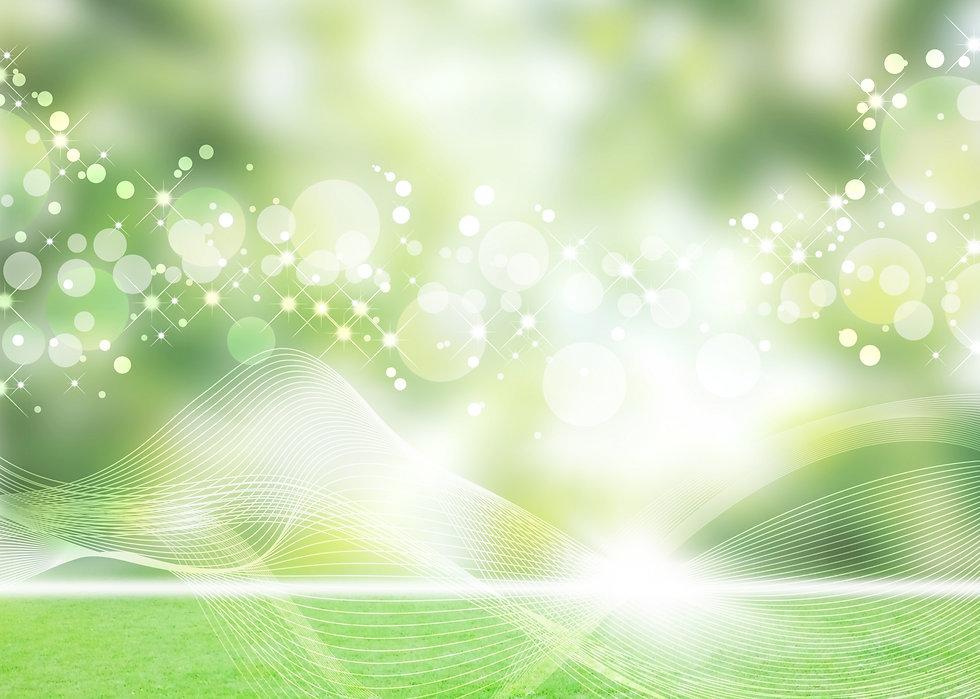 緑キラキラ