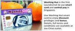 Washing Hut Smart Card
