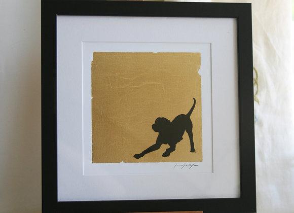 Framed Labrador II