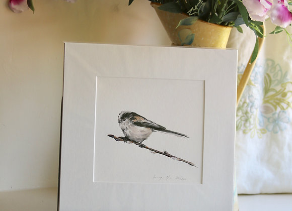 Unframed Long Tailed Tit