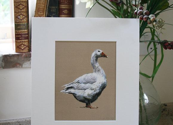 Small Goose Print