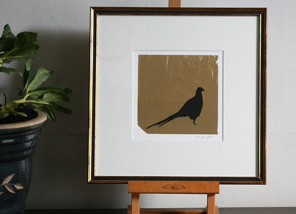 Framed Pheasant I