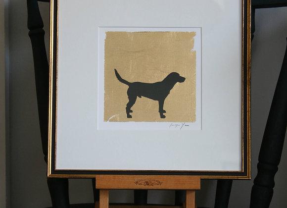 Framed Labrador III