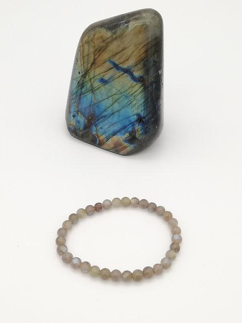 Bracelets billes en Labradorite