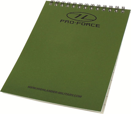 Pro-Force Waterproof Notebook
