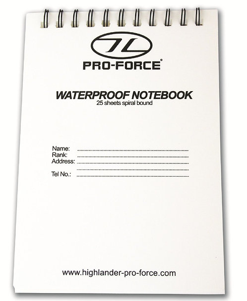 Waterproof Notebook Refill