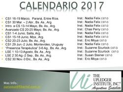 Calendario UI 2017