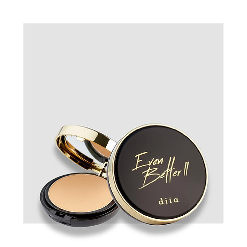 diia EVEN BETTER II Pressed Powder Foundation #02 Beige