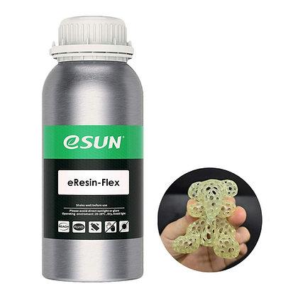 Resina Flexible Translúcido Amarillo 0.5Lt Esun - eResin-Flex