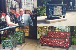 Myself and Mayor Daley, 2001