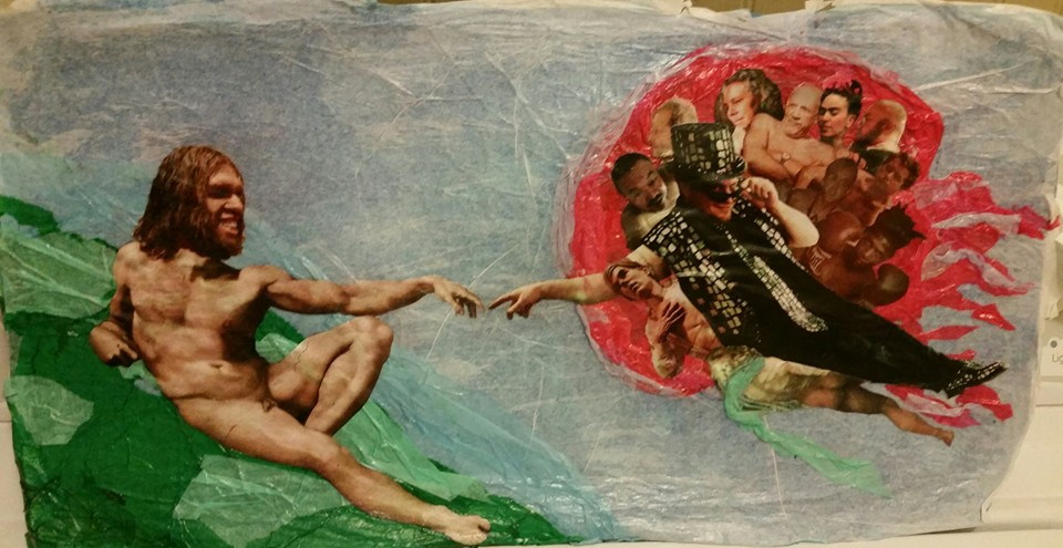 The Creation of Adam, 2015