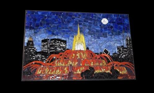 Chicago Starry Night, 2008