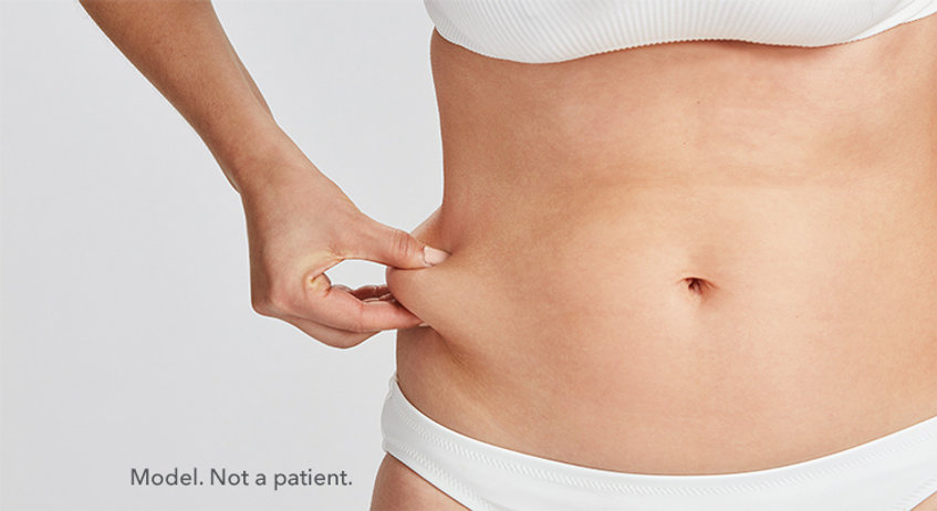 A woman who wants coolsculpting in NYC