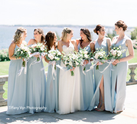 Wedding Party at Misslewood, Endicott College, Beverly