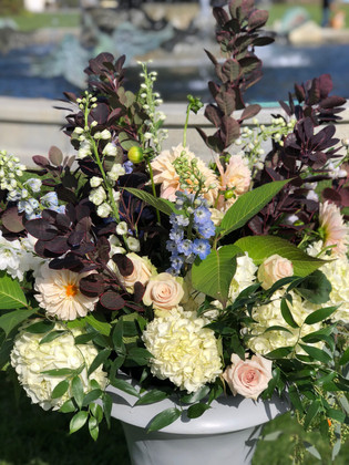 Large Cermony Arrangement , Tupper Manor, Wylie Center, Beverly