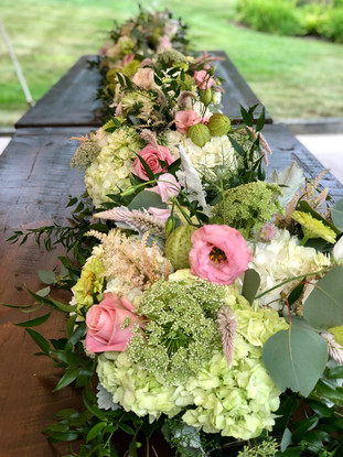 Long Full Table Centerpiece