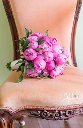 Pink Peony Bouquet, Grafton Estate