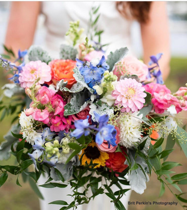 Bright Floral Summer Bouquet