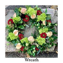 Wreath Cool Colors
