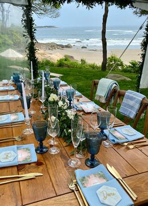 Table Scape Reception