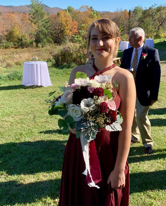 Bridesmaid and Bouquet, VT