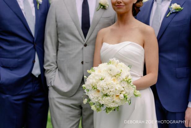 Bride, Groom and Groomsmen