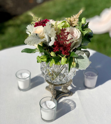 Cocktail Table Arrangement