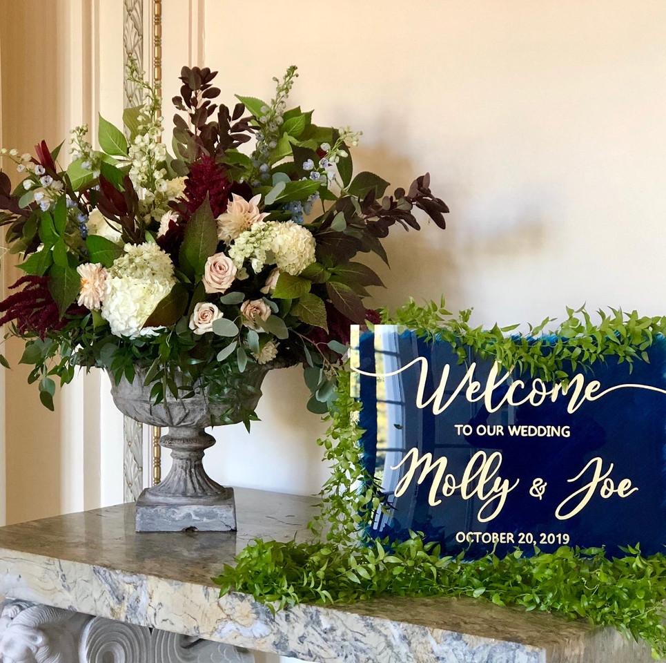 Welcome Entryway Arrangement, Tupper Manor