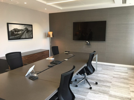 Completed fit out - Jermyn Street