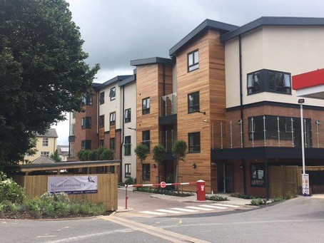 Care Home project completed in Wared