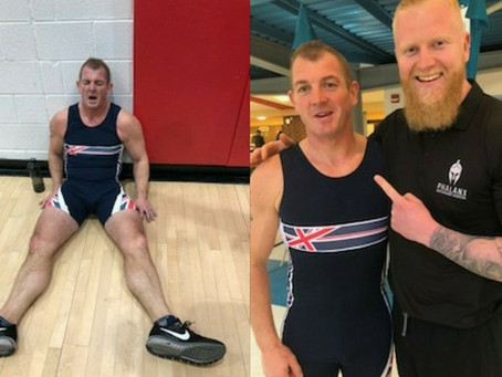 8th place finish in World Indoor Rowing Championships for C&P Managing Director