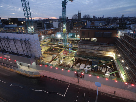 Milestone Achieved on King's Road Project - Timelapse