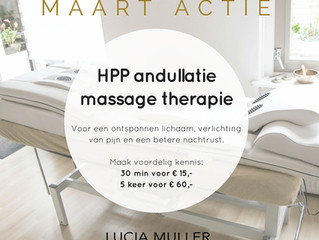 Maart actie | HHP andullatie massage therapie matras