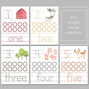 Stephanie - Farms Colors and Numbers -Th