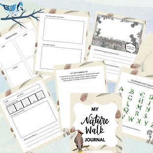kimberly huff - Nature Walk Journal - Na