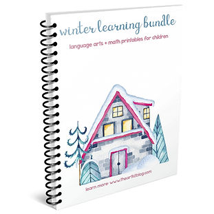 Dana Vanderburg - WINTER LEARNING BUNDLE