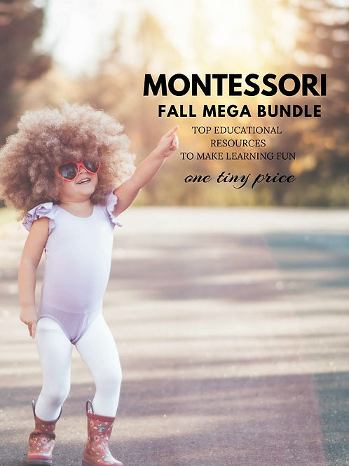 Montessori Fall Mega Bundle