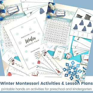 kimberly huff - Winter Montessori Activi