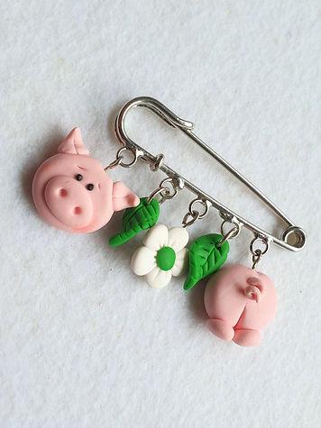 The Pig Brooch