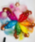 The Wool Fairies Rainbow Collection