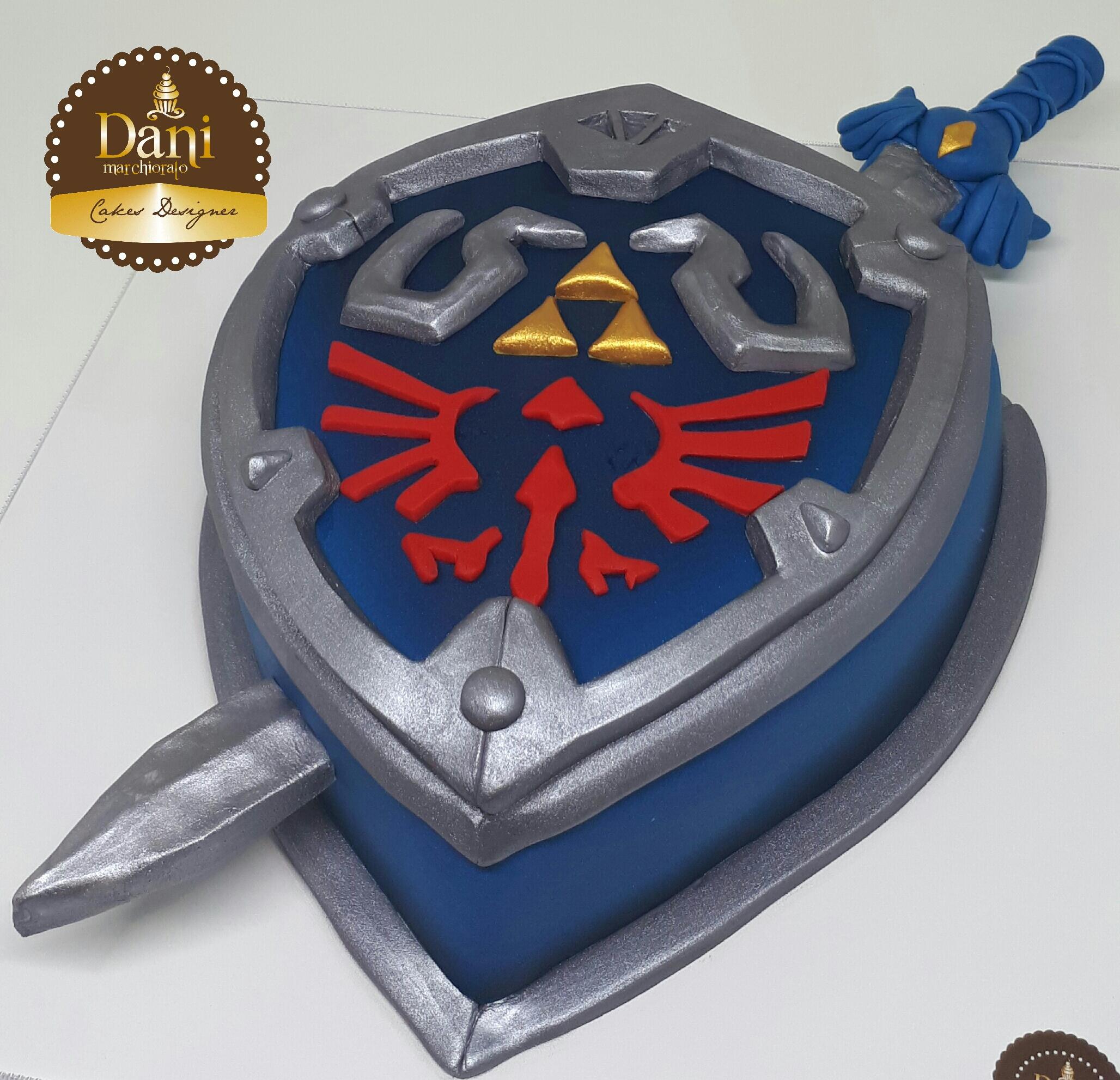 Bolo Escudo e Espada