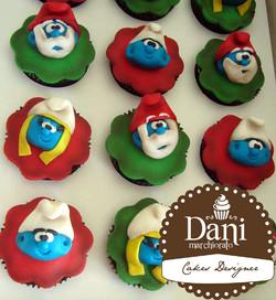 Cupcakes Smurfs