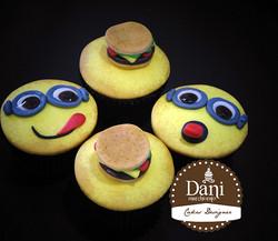 Cupcakes Minions e Sanduíches