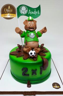 Bolo Palmeiras Porquinho