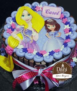 Kitkat Rapunzel e Princesinha Sofia