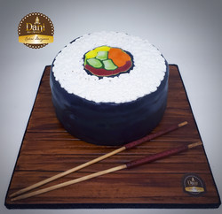 Bolo Sushi